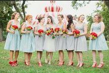 Красивые свадьбы Beautiful Weddings / Примеры замечательных реализаций свадебных палитр