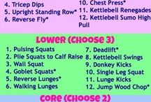 Sara's Health & Fitness Circuit Training workouts
