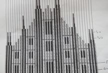 The Milan Cathedral made of 600 origami books / A public performance by Uros Mihic, origami designer