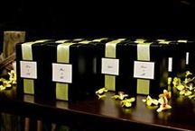 Scented Wedding Favors by NOTE / Beautifully scented favors for your wedding and bridal showers.