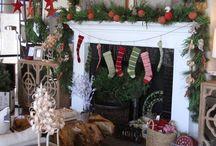 Chimeneas / Decoración navideña