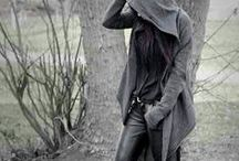Fashion -- Pretty in grey_Inspi' / Grey clothing for when you can't wear black but do not want to wear colors.