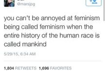 Human with a vagina / Feminism, sexism, gender and other stuff related to the absurdity of being a women in this world. C'est parfois frustrant.