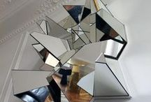 HALE to Reflection / Mirror, mirror on the wall… a new take on a traditional item, fractured mirrors are the item of the season. From art and decor to fashion and accessories bits of reflective metallic and shattered glass make for both high-shine and high-impact. HALE to Reflection,  h-a-l-e.com