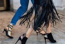 Fringed Fashion / Fringe is one of those ever popular elements that seems to make its appearance on many runways within many designers' collections. Fringed Fashion, h-a-l-e.com