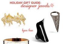 Holiday Gift Guide: Designer Jewels / HALE's Holiday Gift Guide: Designer Jewels. Featuring Lynn Ban, Balenciaga, Hermés, Miansai, Justine Koons, Gus + Al, Flowen h-a-l-e.com