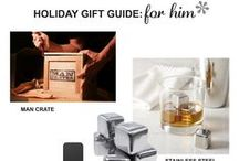 Holiday Gift Guide: For Him / Holiday Gift Guide: For Him on h-a-l-e.com. Unique gifts for your guy this holiday season #holidaygiftguide