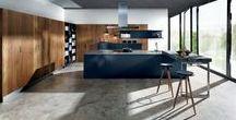 Keuken Gerrie Brandt / Keuken ideeën: - sfeerbeelden qua kleur - voorbeelden 'kleine keuken' - 'handigheden' qua greepjes, spoelbak ed.