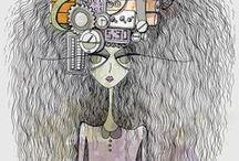 My Illustration work / Samples of my illustration work.  For more examples, visit my website: www.joanafaria.com or my blog: www.joanafaria.wordpress.com