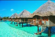 Favorite Places ... Let's Go / Time to travel.  Amazing beaches and other places in this world.