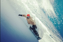 snowboarding / by Ale Bonora