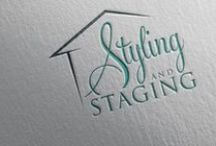 Styling and Staging / Interior redesign, decorating and home staging ideas for my clients and my students!