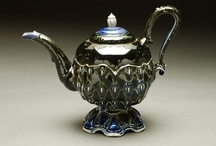 TEAPOTS /TEACUPS/chocolate pots/coffee pots/cool cups / by Melissa