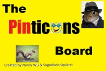 Pintic☺ns / Pinticons© are a pintastik way to add motion and emotion to your boards.  Add them to your web sites and emails, too.  The possibilities are endless with Pinticons©.