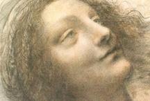 Leonardo da Vinci Drawings / by MotiveGadgets.com