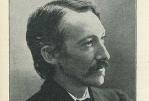 Literary Edinburgh - Robert Louis Stevenson / A selection of images about Robert Louis Stevenson. #RLSDay celebrated on 13 November.