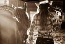 A girl & her horse ♥ / An unbreakable bond <3 / by Lauryn Barnes