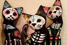 Day of the Dead Dia de los Muertos Sugar Skulls