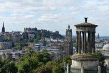 Edinburgh Architecture / Architecture of Old and New Edinburgh, Scotland.  A World Heritage Site.