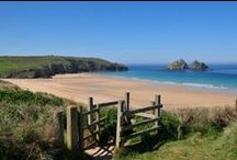 Cornish Beaches / We've got some of the best beaches in the country here in Cornwall - check out some of our favourites and repin! / by St Merryn Park