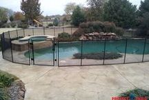 Pool Fence / One can find all one needs to know about Mesh Safety Pool Fences here.