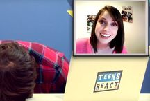 Teens react:) / Love them all!! Laughter is the best medicine.   / by Mariah Rose