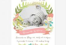 Birth Thank You/Announcement