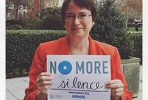 NO MORE & NO MAS Campaign / NO MORE is a new unifying symbol designed to galvanize greater awareness and action to end domestic violence and sexual assault. Supported by major organizations working to address these urgent issues, NO MORE is gaining support with Americans nationwide, sparking new conversations about these problems and moving this cause higher on the public agenda.