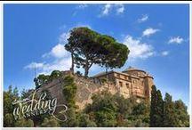 Portofino Castle / Sweet dreams are made in Portofino!  The unique panorama of Portofino is a paradise within paradise! Email our Portofino wedding planners for info: info@italianweddingplanners.com