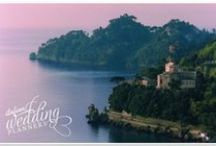 """Ancient Abbey - Italian Riviera / Shouldn't it be as beautiful as the moment you say """" I do""""? This is it!"""