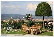 Exclusive Villa over Florence / Looking to crown your wedding in a venue that's both stylish and special?  This pretty private villa overlooking Florence goes above and beyond!
