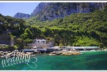 Beach Resort Capri / Escape from the rest of the world for your big day!  If you're looking for the perfect way to start your happily ever after, the time is now, the place is Capri!