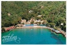 Boutique Hotel - Italian Riviera / Exclusive, elegant, and modern luxury hotel located in one of the most beautiful bays of the Italian Riviera few kilometers from Portofino: the perfect venue for cosy and intimate wedding receptions overlooking the sea.