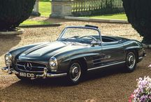 Classic Cars (mostly) / I prefer fast small ones but I still have my Mercedes wagon! / by E K