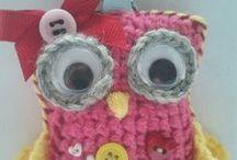 crochet key-rings