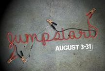 """""""Jumpstart"""" / a series on our 5 purposes. August 2014 Connect, Grow, Serve, Share, Respond"""