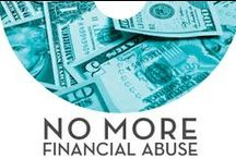 "No More Financial Abuse / Financial abuse occurs in 99% of domestic violence cases. The month of April is recognized as Financial Literacy Month. Join NNEDV & the Allstate Foundation as we say ""No More!"" to financial abuse. 