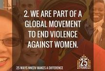 "25 Ways NNEDV Makes a Difference / To honor and mark our 25th anniversary, we're sharing 25 ways that our work positively impacts communities across the country and keeps ""ending domestic violence"" on the national agenda."