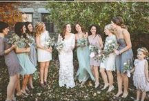 Shades of grey / Elegant, understated and refined. A cool and confident choice perfect for a winter wedding.