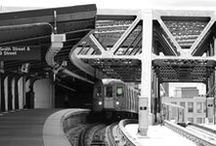 Trains and Subways / I love riding on trains! Why not devote a board to them...