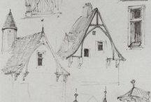 architektura w rysunku i malarstwie