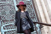Outfit - Mantel Kombinationen / Die schönsten Mäntel für Herbst und Winter . Mäntel richtig kombiniert.