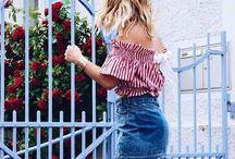 Ausgefallene Blusen / Die ausgefallensten Blusen modisch kombiniert. Outfit Inspirationen mit extravaganten Blusen.