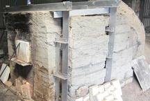 Cave Kiln 穴窯 / Firing Experience Class using Anagama (cave kiln) 結び窯陶芸教室の行事の一つで穴窯による窯焚きを体験してもらえます。