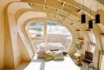 Eco home inspiration / Inspiring ideas for when I build my own earth friendly home