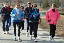 Walking Tips / Walking is a great way to stay fit, find balance, and clear your mind.
