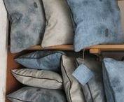 Pillows by Stof en Steen / Handmade luxury pillows from our upholstery Stof en Steen