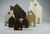 kleine huisjes / by anne schaafsma