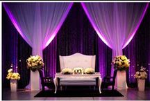 Event Lighting / Ideas to add lighting to your wedding, corporate holiday event, anniversary parties, award shows, birthday parties, ect.