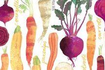 Food pattern art / by Ohn Mar Win
